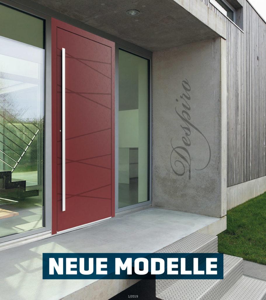 Aluminiumtüren Modelle 2019